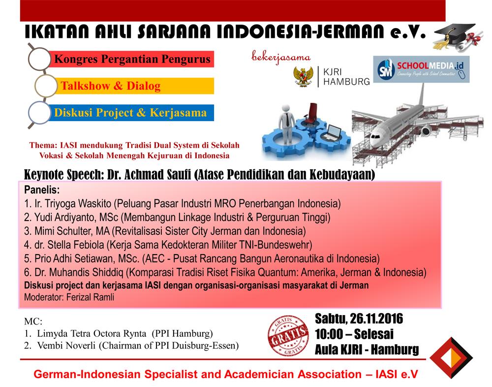 Ikatan Ahli dan Sarjana Indonesia Jerman