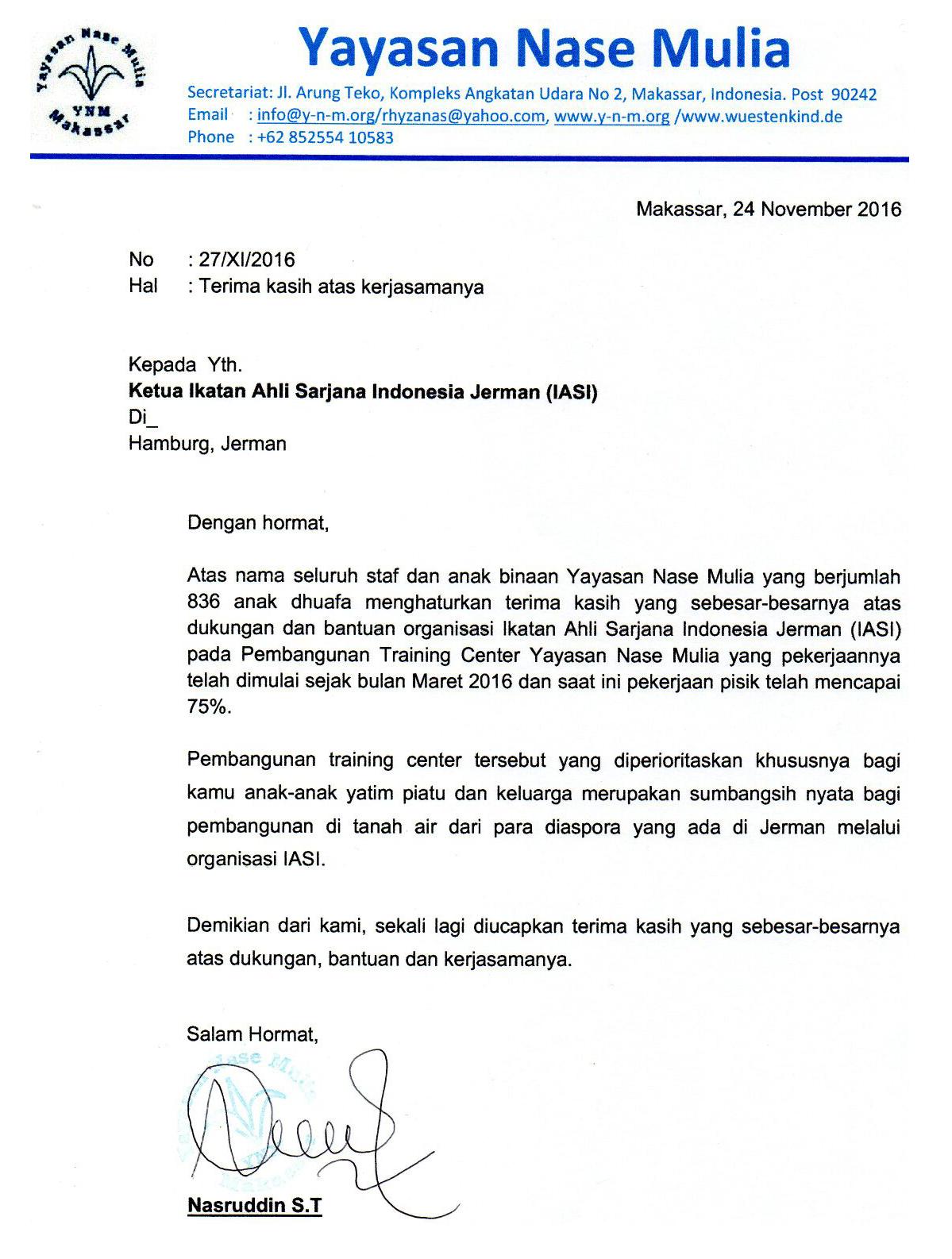 Yayasan Nase Mulia-IASI