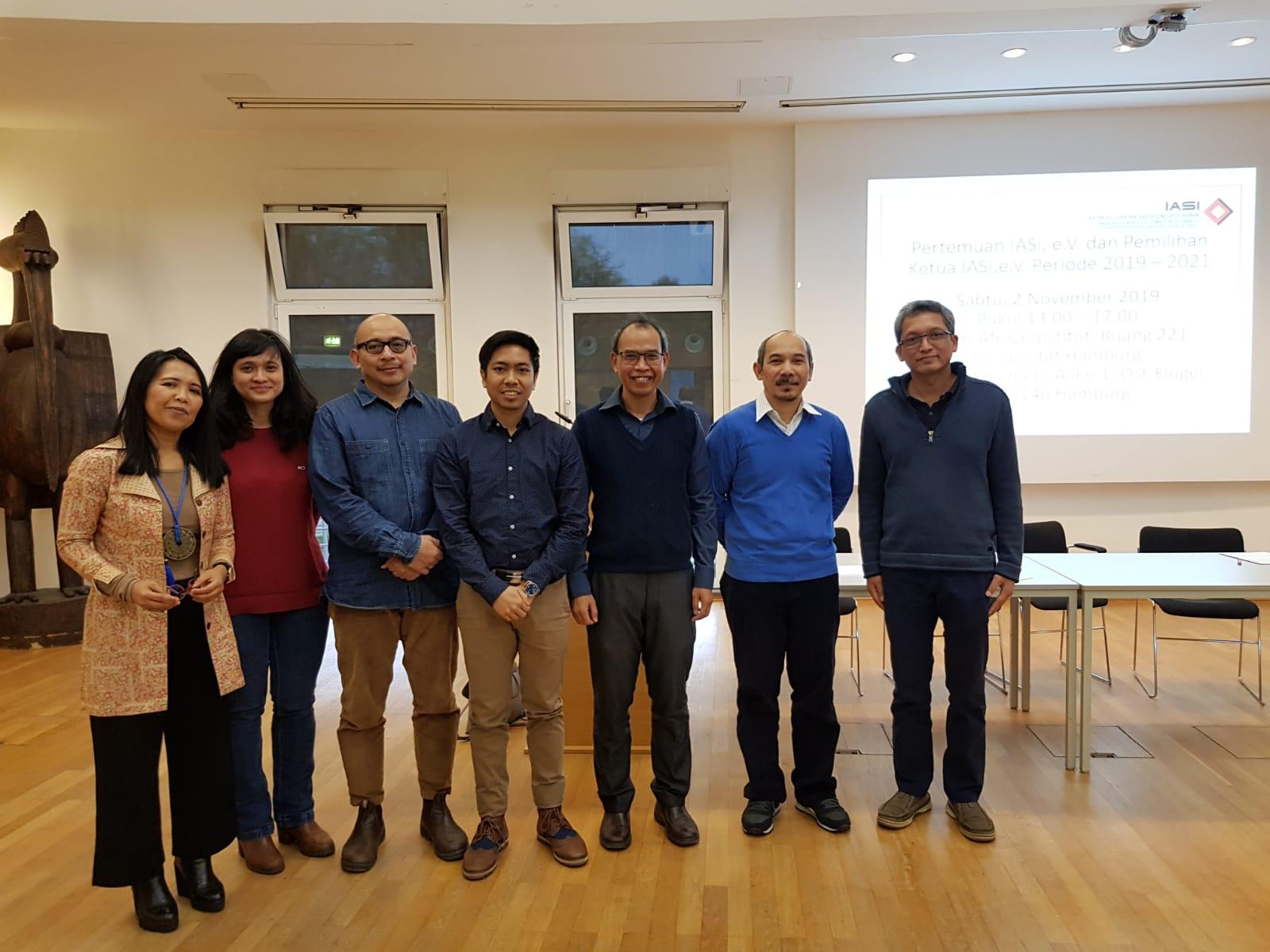 Notulensi Pertemuan dan Pemilihan Ketua IASI, e.V. Periode 2019 – 2021.